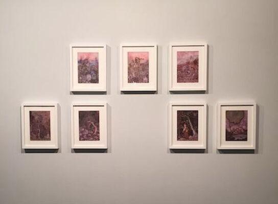 Detached Imagery – Shi Xinji Paper Works, installation view