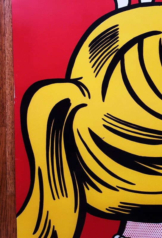 Roy Lichtenstein, 'LACMA (Cold Shoulder)', 1987, Posters, Offset-Lithograph, Poster, Graves International Art