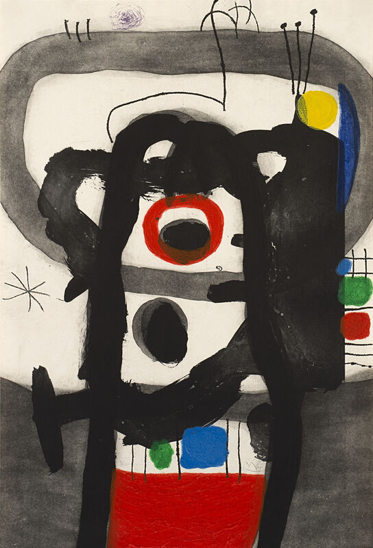 Joan Miró, 'L'Enragé (D. 427)', 1967, Print, Etching and aquatint printed in colors with carborundum on Mandeure rag paper, Il Ponte