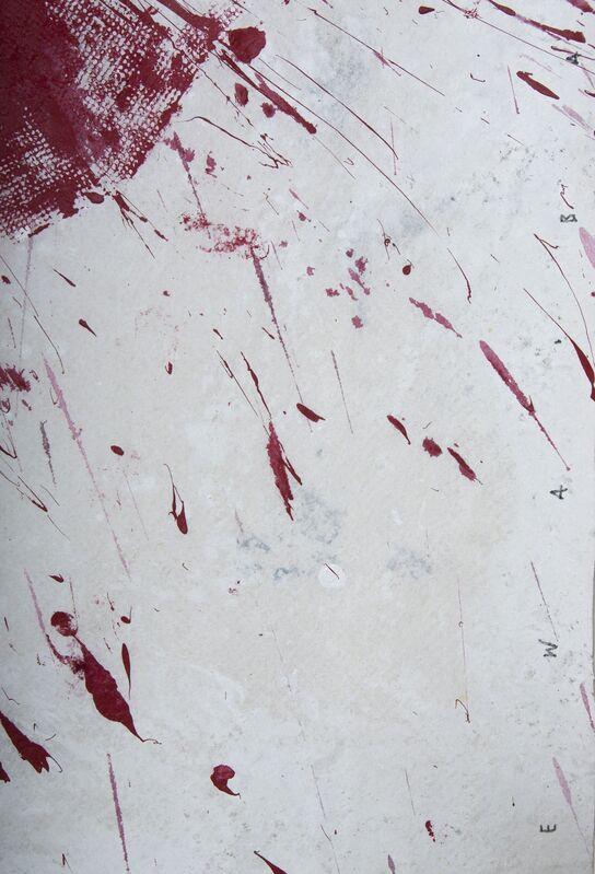 Ewa Bathelier, 'Tutu Red', Painting, Acrylic on Fabric, Galleria Ca' d'Oro