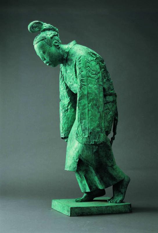 Cai Zhisong 蔡志松, '故国·风1#; Custom to Motherland, No. 1', 2001, Sculpture, Bronze, Linda Gallery