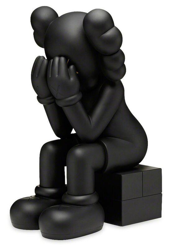 KAWS, 'Passing Through (Black)', 2013, Sculpture, Painted cast vinyl, Lougher Contemporary