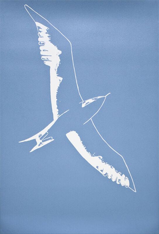 Alex Katz, 'Seagull', 2010, Print, Linocut, Frank Fluegel Gallery