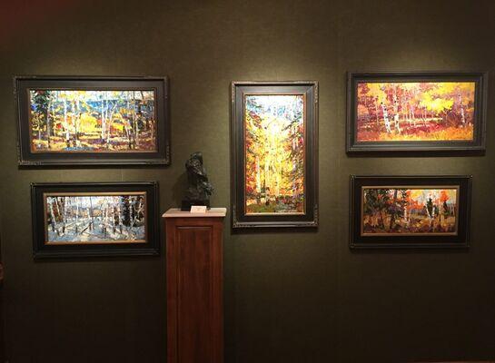 Robert Moore: Progression, installation view