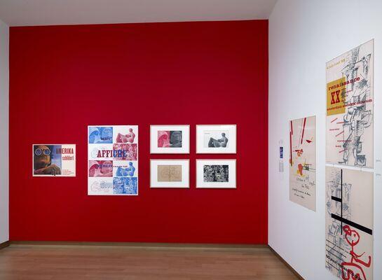 Sandberg, director and designer, installation view