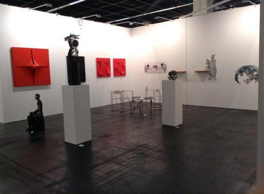 GALERIE BENJAMIN ECK at Art Fair Köln 2015, installation view