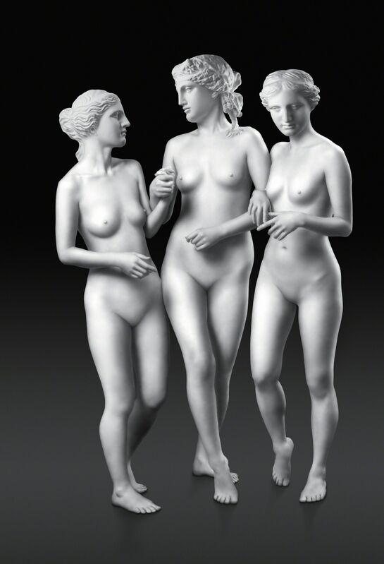Debbie Han, 'Walking Three Graces', 2007, Photography, Lightjet print, Ricco/Maresca Gallery