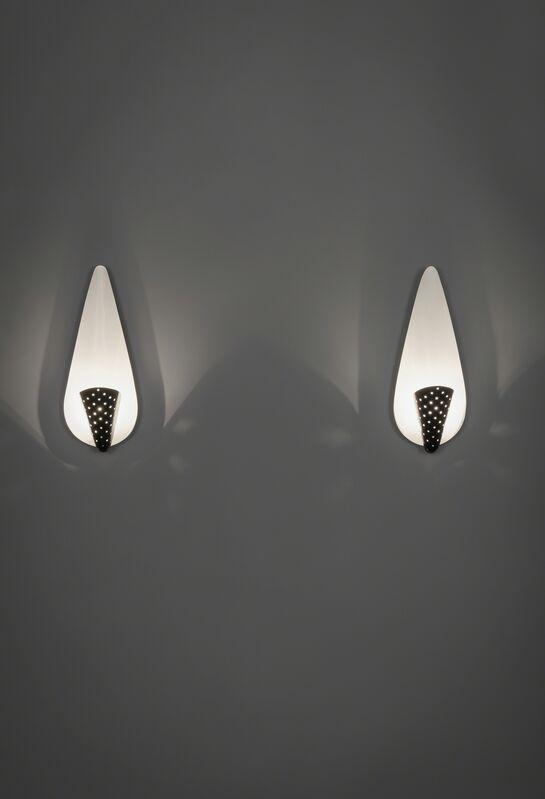 Michel Buffet, 'Pair of sconces B209', 1952, Design/Decorative Art, Lacquered metal, Galerie Pascal Cuisinier
