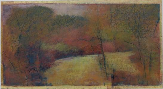 """Tamar Zinn, 'Tamar Zinn """"Untitled Landscape"""" Oil Pastel, 1997', 1997"""