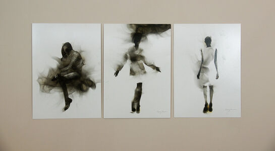 Steven Spazuk, 'Smoky Figures 4, 5 & 6', 2017