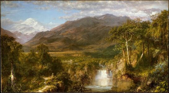 Frederic Edwin Church, 'Heart of the Andes', 1859