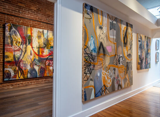 Michael Gadlin - Project Space Exhibition, installation view