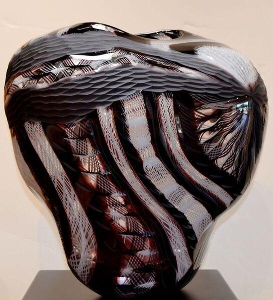 Massimiliano Schiavon, 'Untitled - Black and white vessel  ', 2010