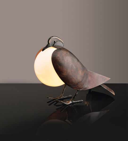 Claude & François-Xavier Lalanne, 'Pigeon Lamp', Circa 1991