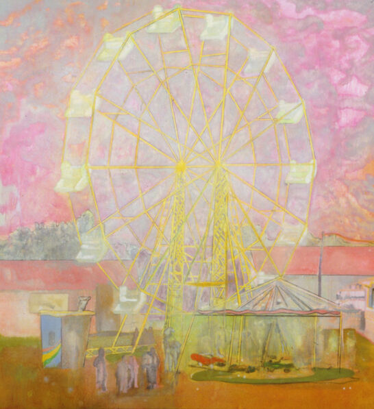 Peter Doig, 'Rainbow Wheel', 1999