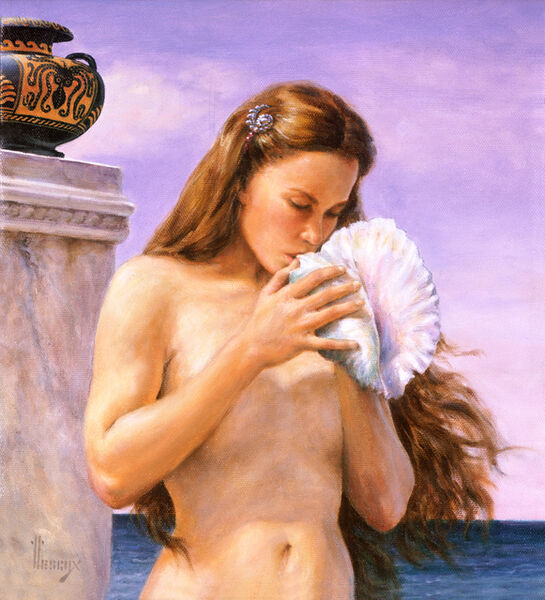 Richard Hescox, 'Poseidon's Daughter', 2004