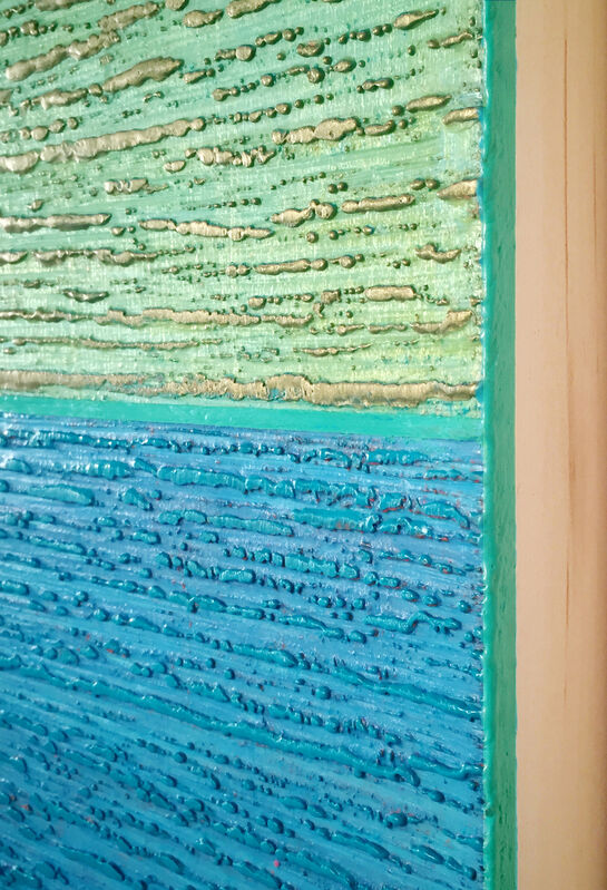 Joanne Mattera, 'Silk Road 481', 2019, Painting, Encaustic (pigmented beeswax) on panel, Kenise Barnes Fine Art