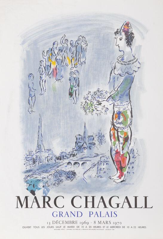 Marc Chagall, 'Grand Palais', 1970, Ephemera or Merchandise, Lithograph Poster, RoGallery