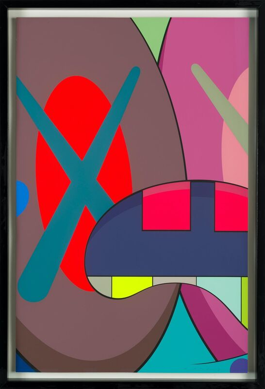 KAWS, 'Ups and Downs (portfolio of 10 prints)', 2013, Books and Portfolios, Silkscreen print on Saunders Waterford 410gm High White paper, Corridor Contemporary