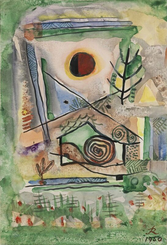 Hans Reichel, 'Untitled', 1950, Drawing, Collage or other Work on Paper, Watercolour and pencil on paper, Jeanne Bucher Jaeger