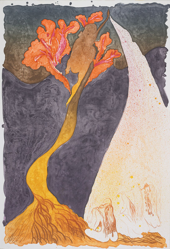 Chris Ofili, 'Ritual & Desire', 2009, Print, Lithograph in colours, on Arches paper, the full sheet., Phillips