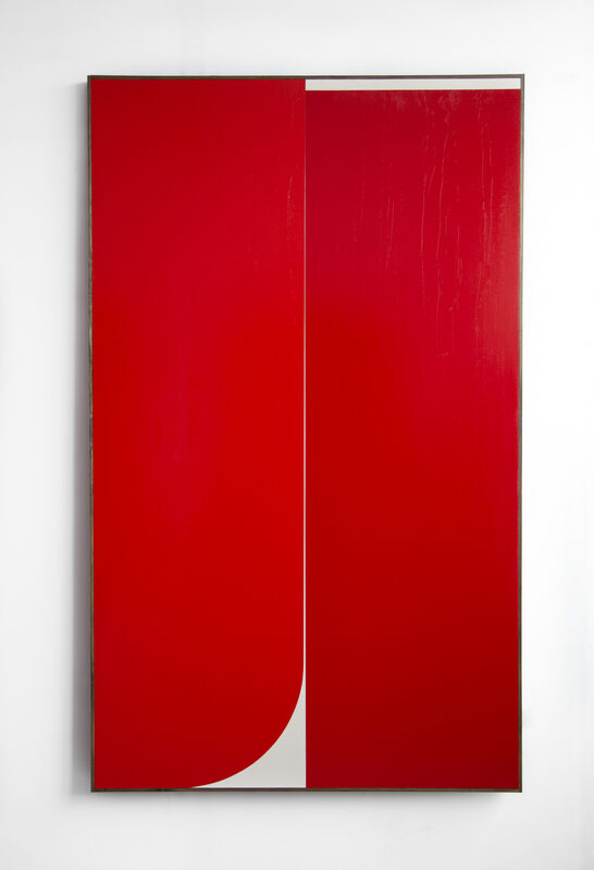 Johnny Abrahams, 'Untitled (Red #3)', 2019, Painting, Oil on canvas, CHOI&LAGER