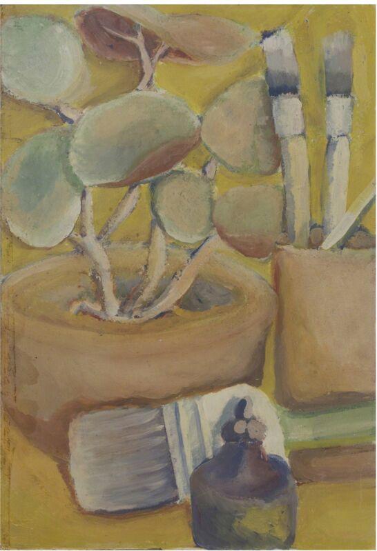 Barry Wolfryd, 'Still Life', 1975, Painting, Tempera on Panel, Galería Nudo