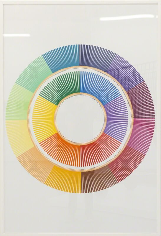 Luke Newton, 'Chromatic Crayons 1', 2015, Mixed Media, Cut paper, Fabien Castanier Gallery