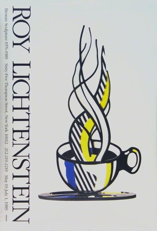 Roy Lichtenstein, 'Cup and Saucer', 1989, Ephemera or Merchandise, Offset Lithograph, ArtWise