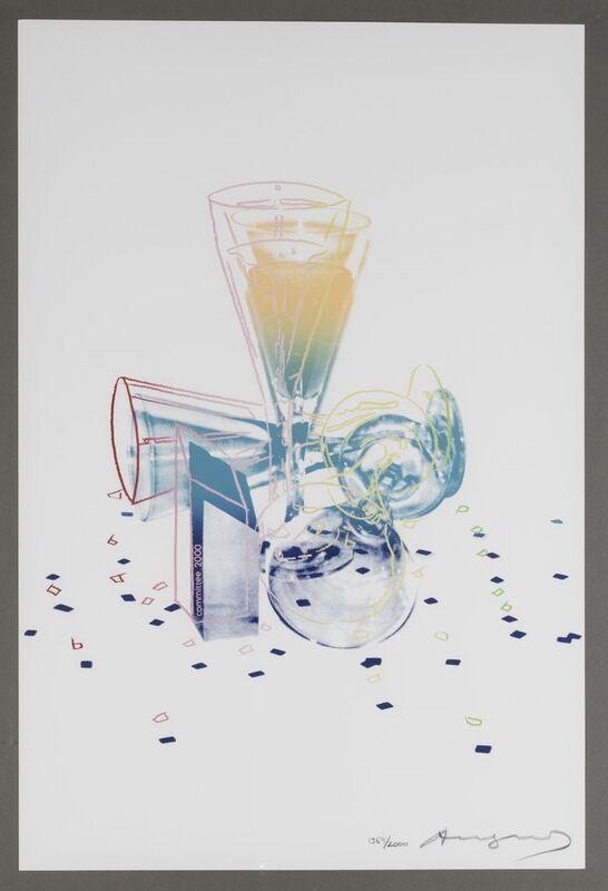 Andy Warhol, 'Committee 2000', 1982, Print, Screenprint on Paper, Gerald Hartinger Fine Arts