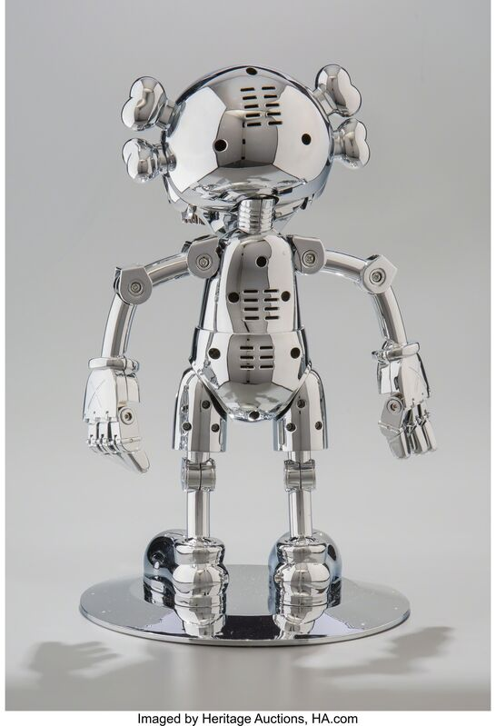 KAWS, 'No Future Companion (Silver Chrome)', 2008, Other, Metallized plastic, Heritage Auctions