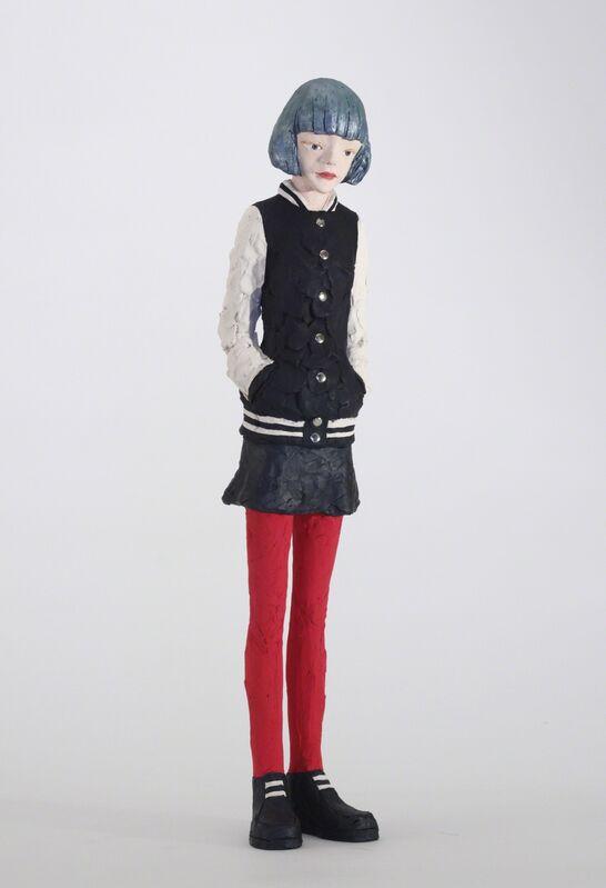 Hiroto Kitagawa, 'Ruri Konno', Sculpture, Terracotta, Acrylic paint, Aki Gallery