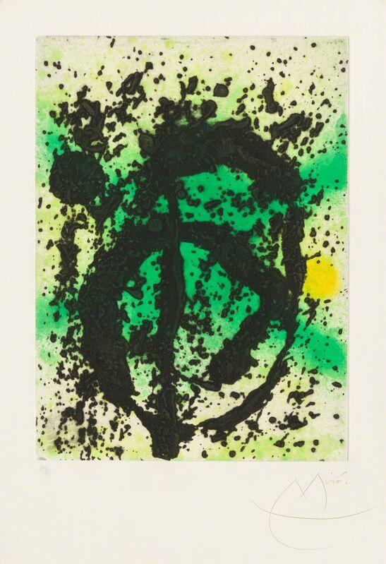 Joan Miró, 'Vegetable Kingdom', 1968, Print, Aquatint and Carborundum, Christopher-Clark Fine Art