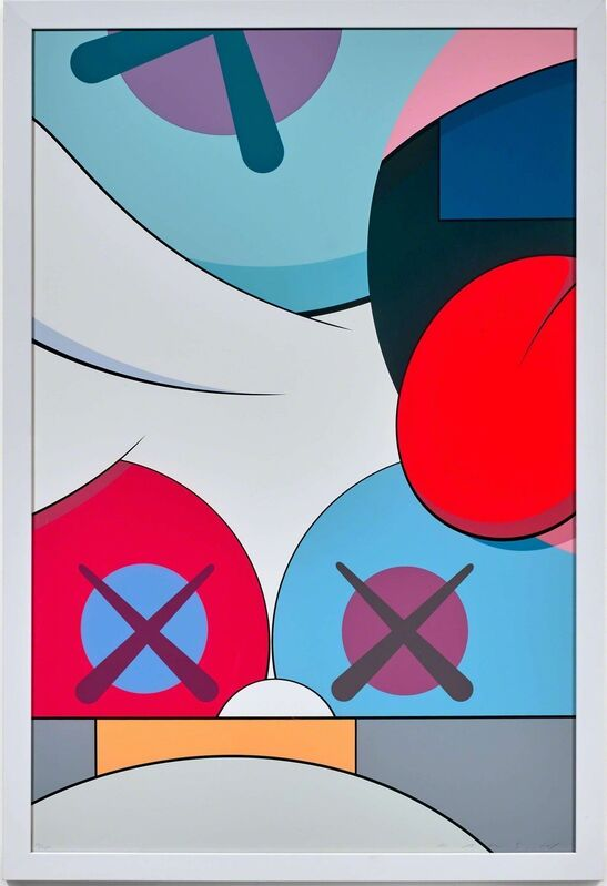 KAWS, 'Blame Game 4', 2014, Print, Screenprint, Vertu Fine Art