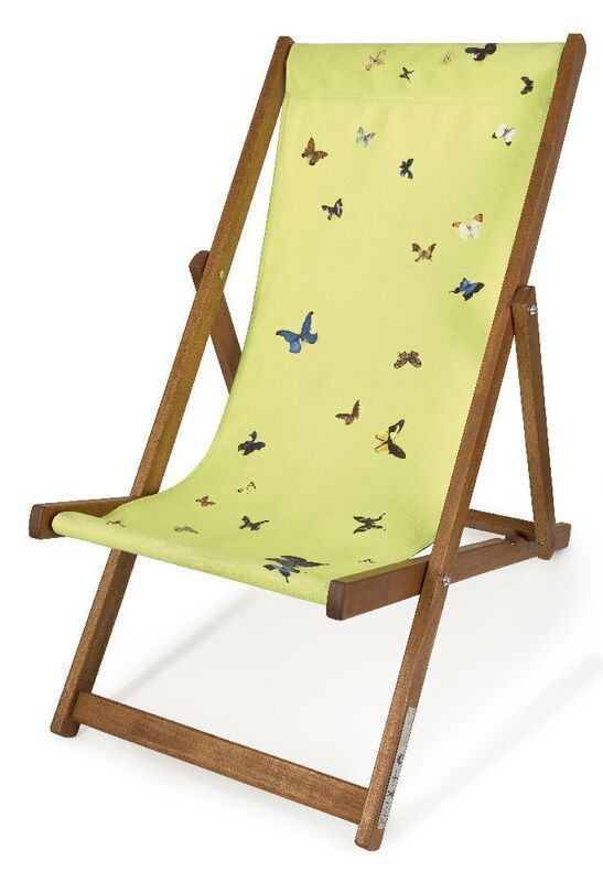 Damien Hirst, 'Deckchair', 2007, Print, Screenprint in colours on woven canvas with wood frame, Roseberys
