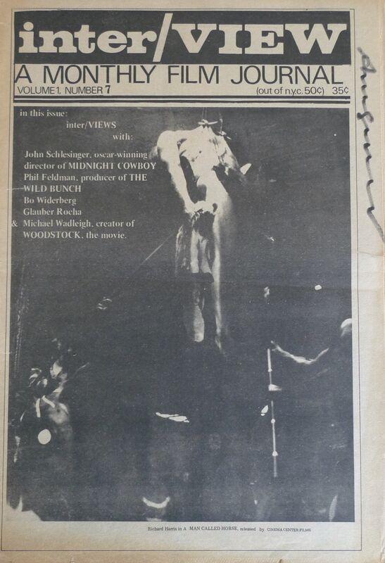 Andy Warhol, 'Interview Magazine Volume 1', 1969-1970, Ephemera or Merchandise, Magazine, Bengtsson Fine Art