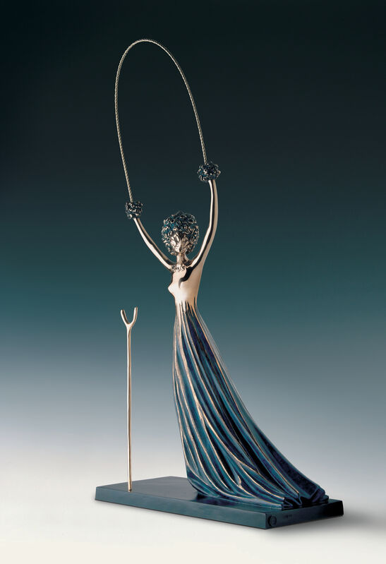 Salvador Dalí, 'Alice In Wonderland', Conceived in 1977-First cast in 1984, Sculpture, Bronze, Ode to Art