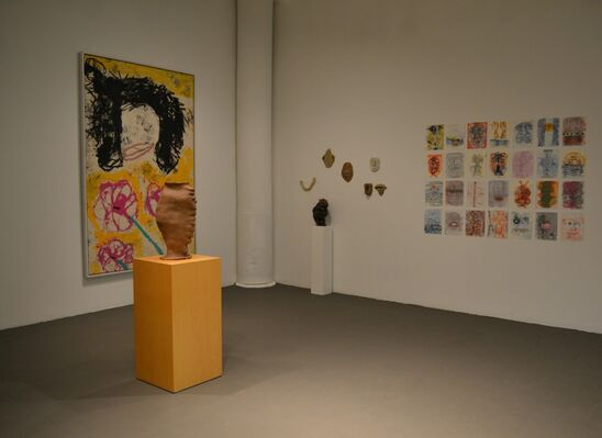 Symmetry, Asymmetry & Repetition, installation view