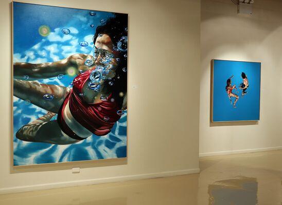 Eric Zener: Breaking Through, installation view