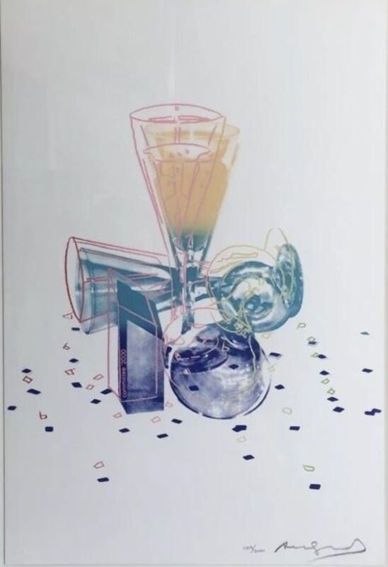 Andy Warhol, 'Committee 2000', 1982, Print, Screen print in colours on Lenox Museum Board, Tate Ward Auctions