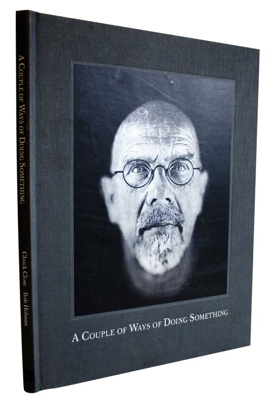 Chuck Close, 'Chuck Close: A Couple of Ways of Doing Something', 2006, Other, Book, ArtWise