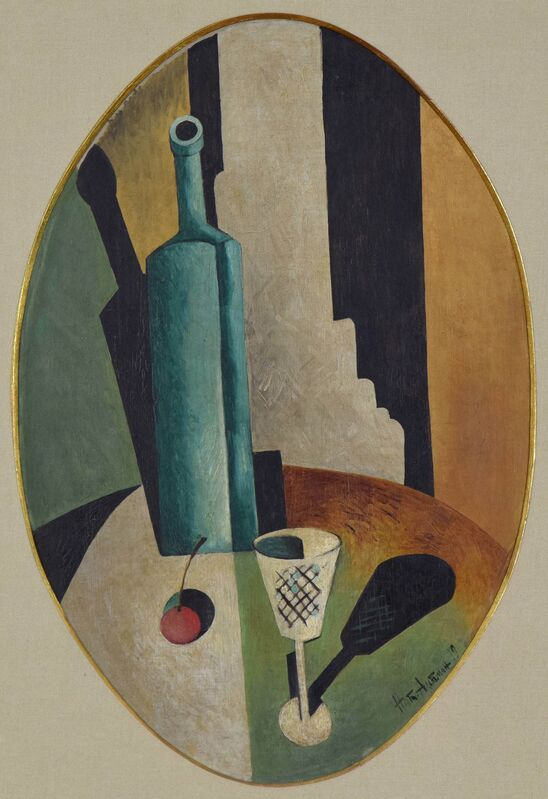 Nathan Altman, 'Nature Morte', 1919, Painting, Oil on canvas, Stern Pissarro Gallery