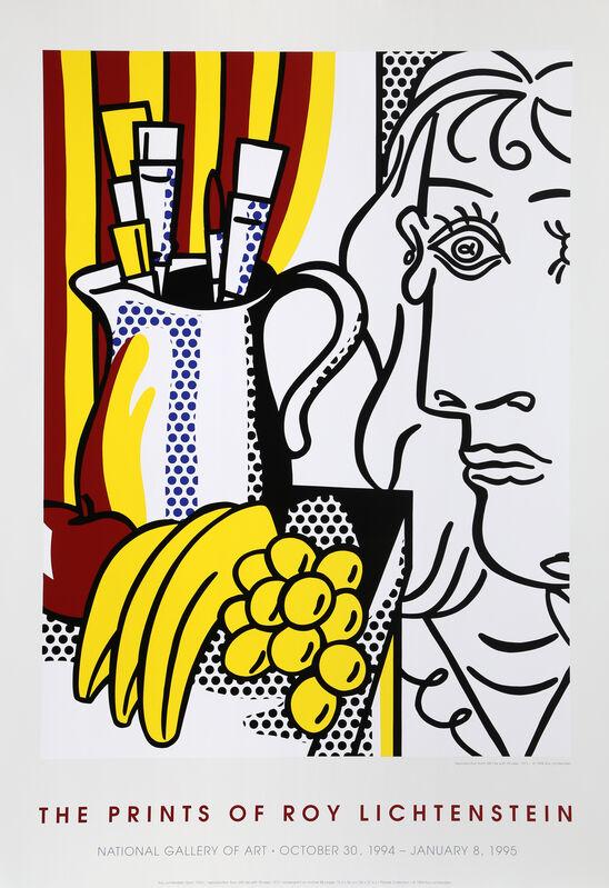 Roy Lichtenstein, 'The Prints of Roy Lichtenstein, Still Life with Picasso', 1995, Ephemera or Merchandise, Offset Lithograph, RoGallery