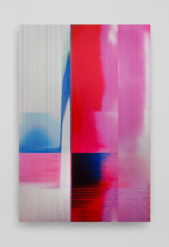 James Hoff, 'Skywiper No. 70', 2015, Painting, Chromaluxe transfer on aluminum, Callicoon Fine Arts