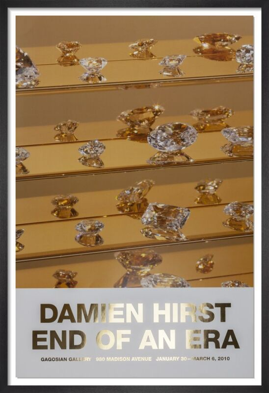 Damien Hirst, 'End Of An Era Signed Poster', 2010, Print, Poster paper with Gold Foil, The Drang Gallery