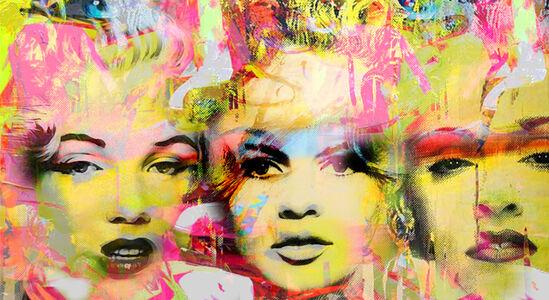 Dganit Blechner, 're Grazia - Marilyn, Madonna and Brigitte Bardot', GFA510