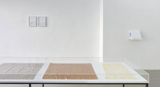 Ane Mette Hol, 'Untitled (Drawing for One, Two, Five and Different Objects)', 2015