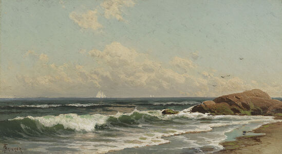 Alfred Thompson Bricher, 'Afternoon at Cohasset', Date Unknown