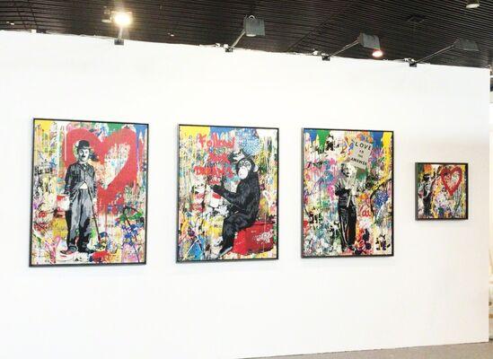Deodato Arte at WOPART Lugano 2018, installation view