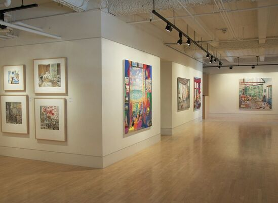Damian ELWES - Artist Studios: From Picasso to Jeff Koons, installation view